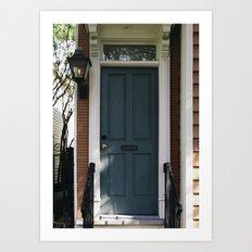 Charleston Doorstep II Art Print