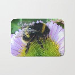 Bee on a daisy Bath Mat