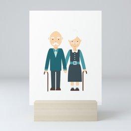 Happy Grandparents Day Mini Art Print