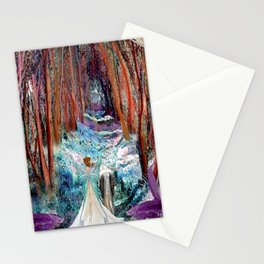 Fairy and Unicorn, Fantasy Forest Stationery Cards