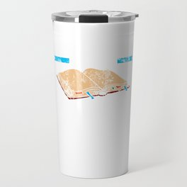 Bookmarks Are For Quitters Reader Distressed Travel Mug