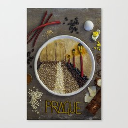 Prague. Canvas Print