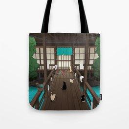 A Japanese summer night Tote Bag
