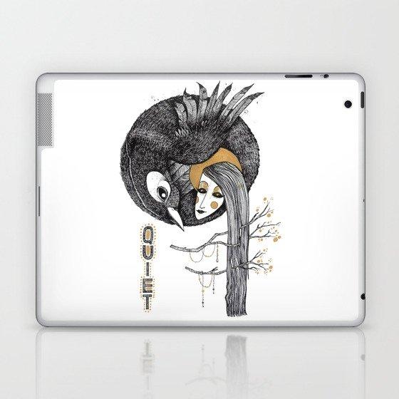 BIRD WOMEN 4 Laptop & iPad Skin