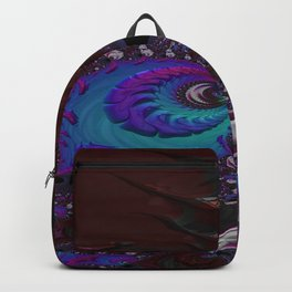 Hoarse Hallow Fractal - Abstract Art Backpack