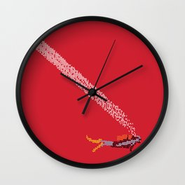 Scuba diving – Embroidered Wall Clock