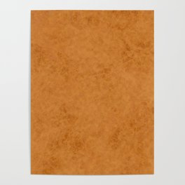 Yellow suede Poster