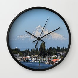 Mount Hood Wall Clock