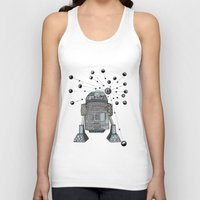 r2d2 Tank Tops featuring R2D2 by Svenningsenmoller Design