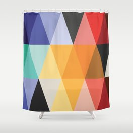 Mid-Century Modern Color Story Shower Curtain