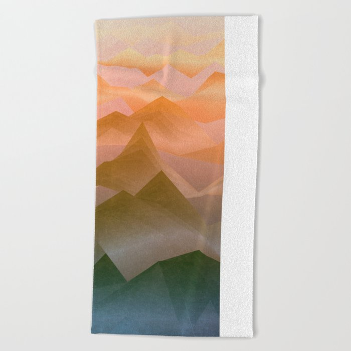 Top of the World (Sunrise) Beach Towel