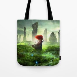 Merida The Brave - Portrait Merida Walking Tote Bag