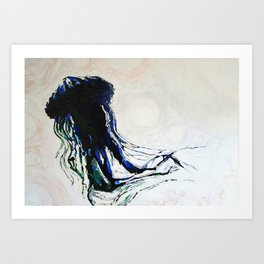 ocean creature Art Print