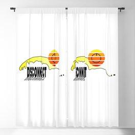 Disconnect Blackout Curtain