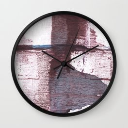 Gray claret Wall Clock