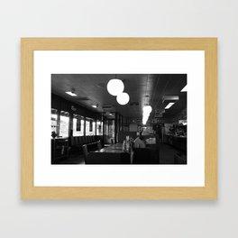 Waffle House  Framed Art Print