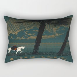 Vintage poster - Caucasus Rectangular Pillow