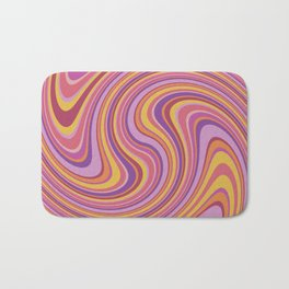Twist and Shout-Fiesta colorway Bath Mat