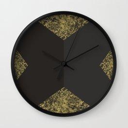 Modern Gold and Grey Wall Clock