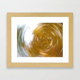 Canopy Kaleidoscope Framed Art Print