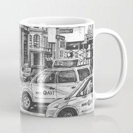 New York Taxis Coffee Mug