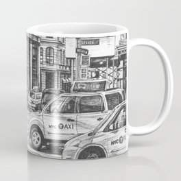 New York Taxis Coffee Mug