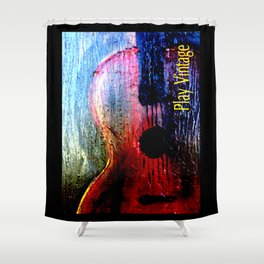 Play Vintage Shower Curtain