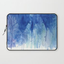 Crackling blue Laptop Sleeve