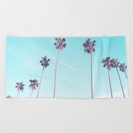 Palms Good Vibes Beach Towel