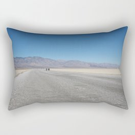 Below Sea level at Bad Water Basin Rectangular Pillow