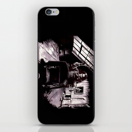 Benjamin Barker iPhone & iPod Skin