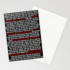 This is Flatground Only Stationery Cards