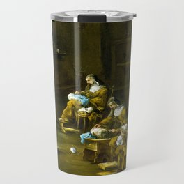 Alessandro Magnasco Nuns at Work Travel Mug