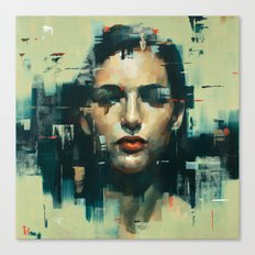 Facing Obstructions 6 Canvas Print