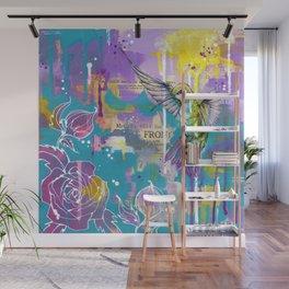 A Hummingbirds Folly Wall Mural