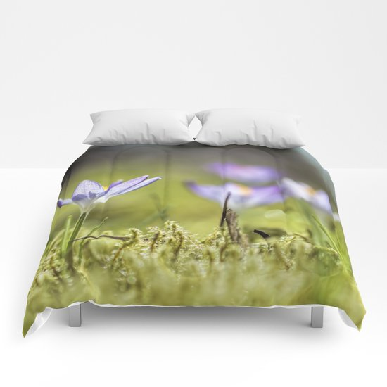 Crocus meadow Comforters