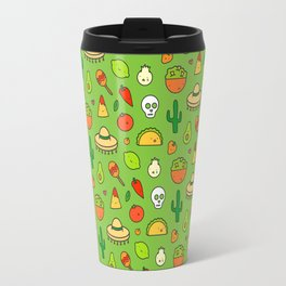 Viva Mexico - Cute Pattern Travel Mug