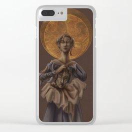 Saint Judith Clear iPhone Case