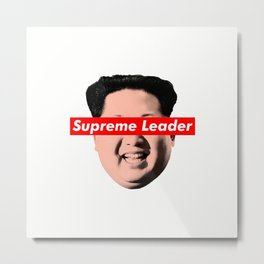 supreme leader Metal Print