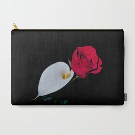 Calla Lily & Rose Carry-All Pouch