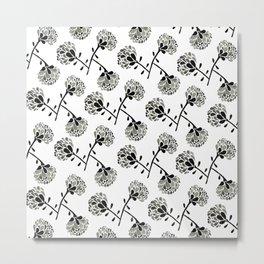 floral freefall Metal Print