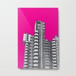 London Town - Lloyds of London Metal Print