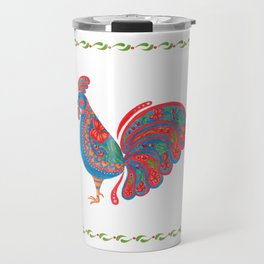 The Blue Roosters Travel Mug