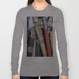 Cold steel arms Long Sleeve T-shirt