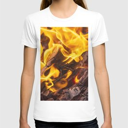 Fire and flames T-shirt