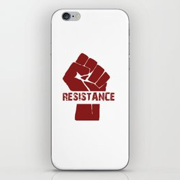 Resistance Fist iPhone Skin