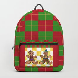 Gingerbread Twins Backpack