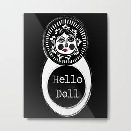 Hello Matryoshka Metal Print