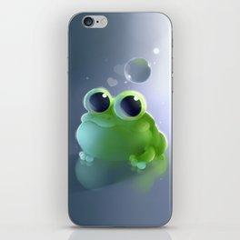 Apple Frog iPhone Skin