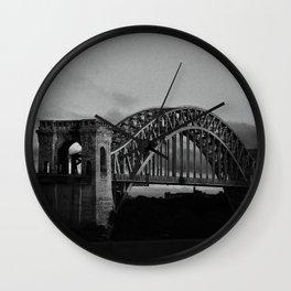 N Why Bridge Wall Clock